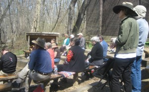 Poets @ Pennypack crowd