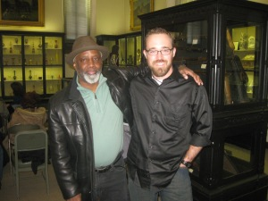 Featured Poets Lester Mobley and Bruce Kramer