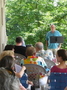 Poets on the Porch 2011