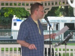 Chad Parenteau Poets in the Park