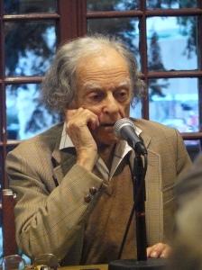Poet Laureate Daniel Hoffman Courtesy of Kelly Writers House
