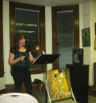 Medford Arts Center Reading 3 14 13 Featured Poet Diane Sahms-Guarnieri (2)