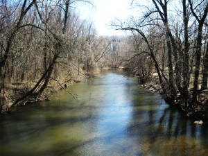 Pennypack Creek in Northeast Philadelphia