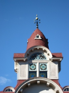 Cupola atop Ryerss Museum and Library