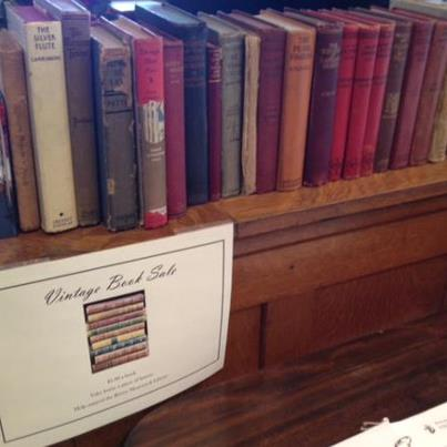 Ryerss Vintage Book Sale courtesy of Ryerss Museum and Library