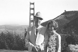 Pablo Neruda and wife Matilde Urrutia