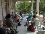 Poets on the Porch 2010 Catherine Staples reads