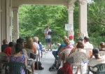 Poets on the Porch 2010 - Patrick Lucy Reads