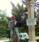 Poets on the Porch 2010- Rodger Lowenthal reads