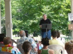 Poets on the Porch 2011 Dan Magurie reads
