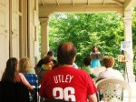 Poets on the Porch 2011 Diane Sahms Guarneri reads