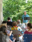 Poets on the Porch 2011 g emil reutter reads