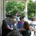 Poets on the Porch 2011 Lynn Levin reads