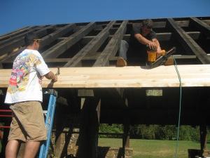 Pine Road Pavilion Restoration 002