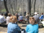 Crowd Listens to Diane Sahms-Guarnieri