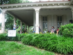 Photo from Poets on the Porch 2013