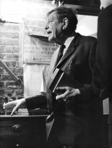 W.H. Auden at the 92nd Street Y Poetry Center in 1966.- Diane Dorr-Dorynek/Courtesy of the 92nd Street Y