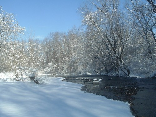 Pennypack Creek - Winter