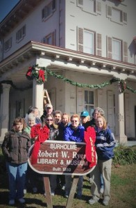 Friends of Ryerss Museum and Library decorated last weekend