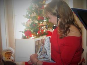 Poet Diane Sahms-Guarnieri reads A Visit from St. Nicholas By Clement Clarke Moore