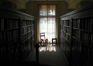 The Library at Ryerss Museum