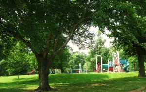 Playground at Burholme Park