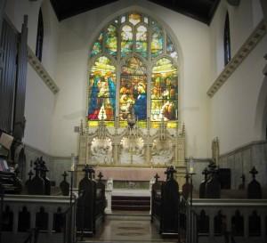 Alter at Memorial Church of the Nativity